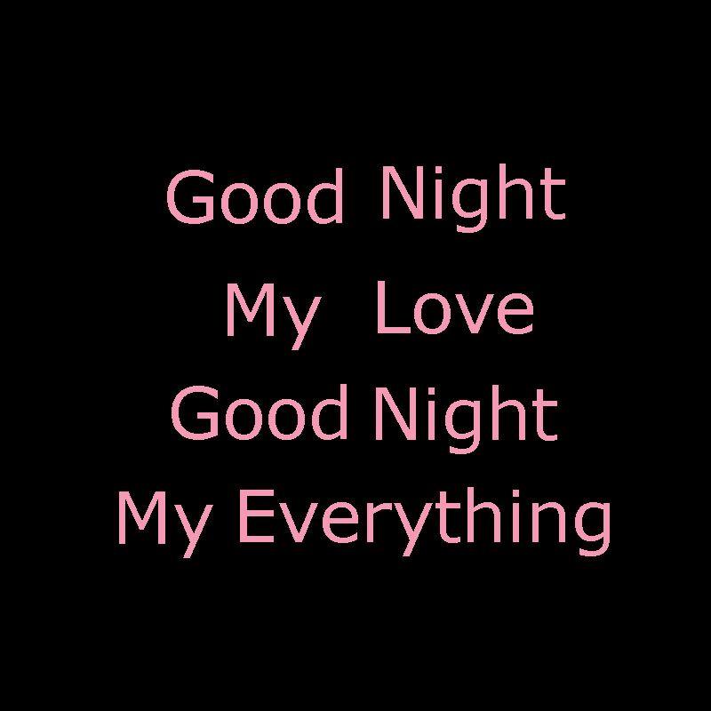 guten nacht mein liebe