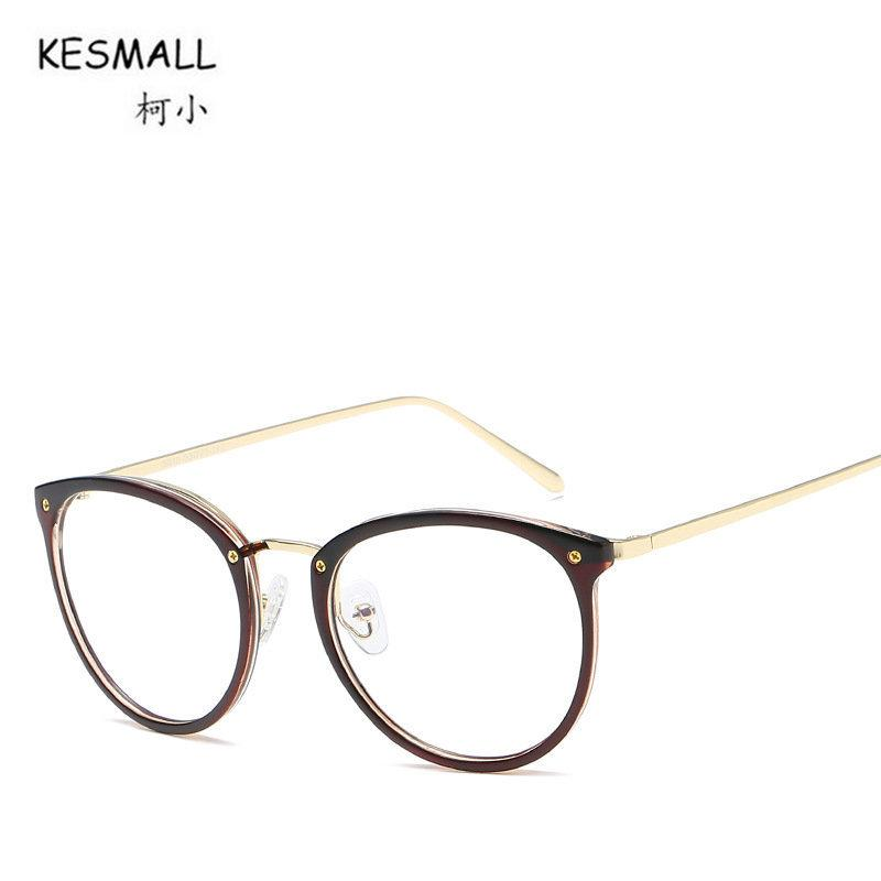37db9d674c3 2019 KESMALL Fashion Brand 2017 New TR90 Optical Glasses Frame Men Women  Ultra Light Material Eyeglasses Frames Myopia Eyewear XN220 From Kuchairly