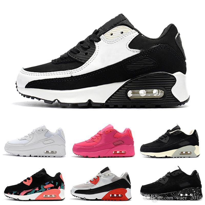2b3124a2 Купить Оптом Nike Air Max 90 2018 Весенняя Осень Дети Обувь 90 ...