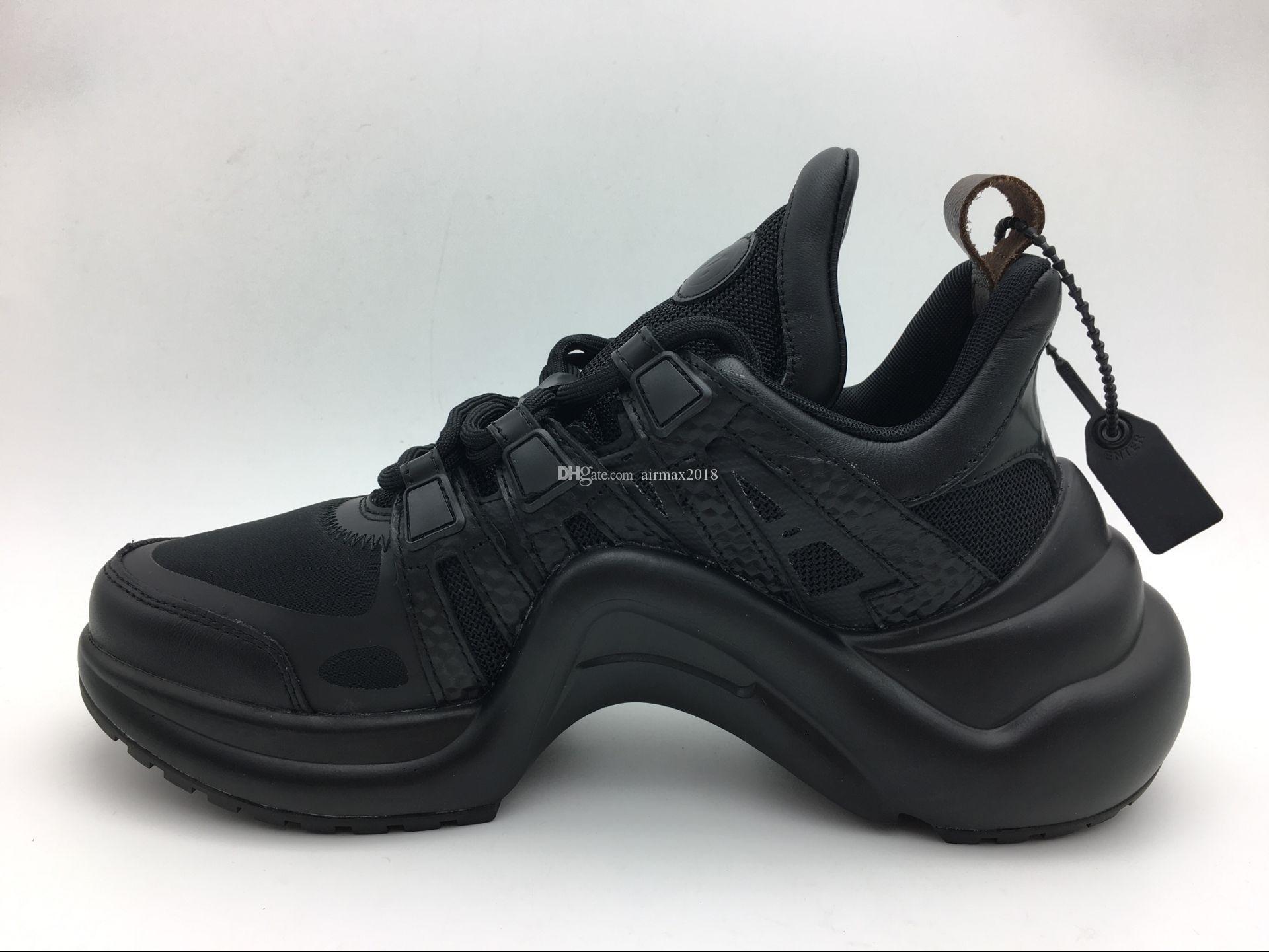 0969edbf130c21 2018 New Luxury Archlight Sneaker Men And Women Genuine Leather ...