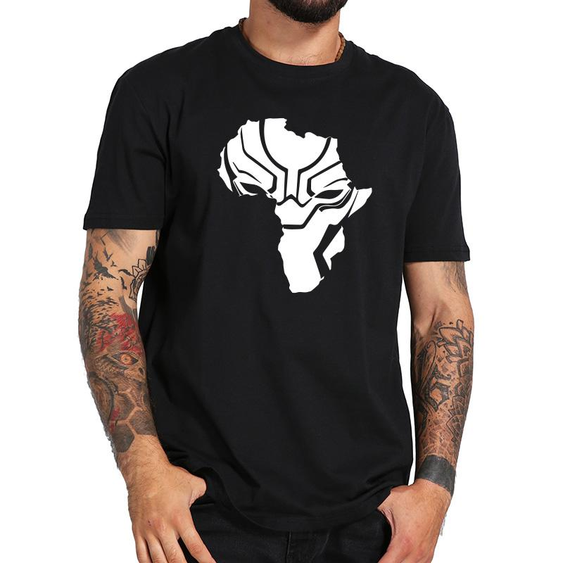 ef2f98a8 Black Anime T Shirt Wakanda Africa Map Cool T Shirs Men Cartoon Printing Tee  Fans Gift Boys Summer Tops Eu Size Awesome Tee Shirt Designs T Shirts  Awesome ...