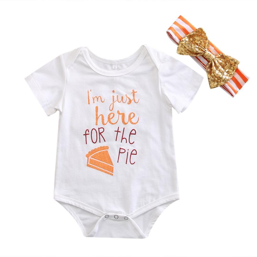 f856352cd519 2019 Pudcoco 2017 Newborn Infant Baby Girls Boys Short Sleeves ...