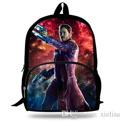 16inch Hot Sale Superhero Bags For School Kids Guardians Of The Galaxy  Backpack For Boys Girls Sport Backpacks Backpack Sales From Xielisa 3fb4df2f25a16
