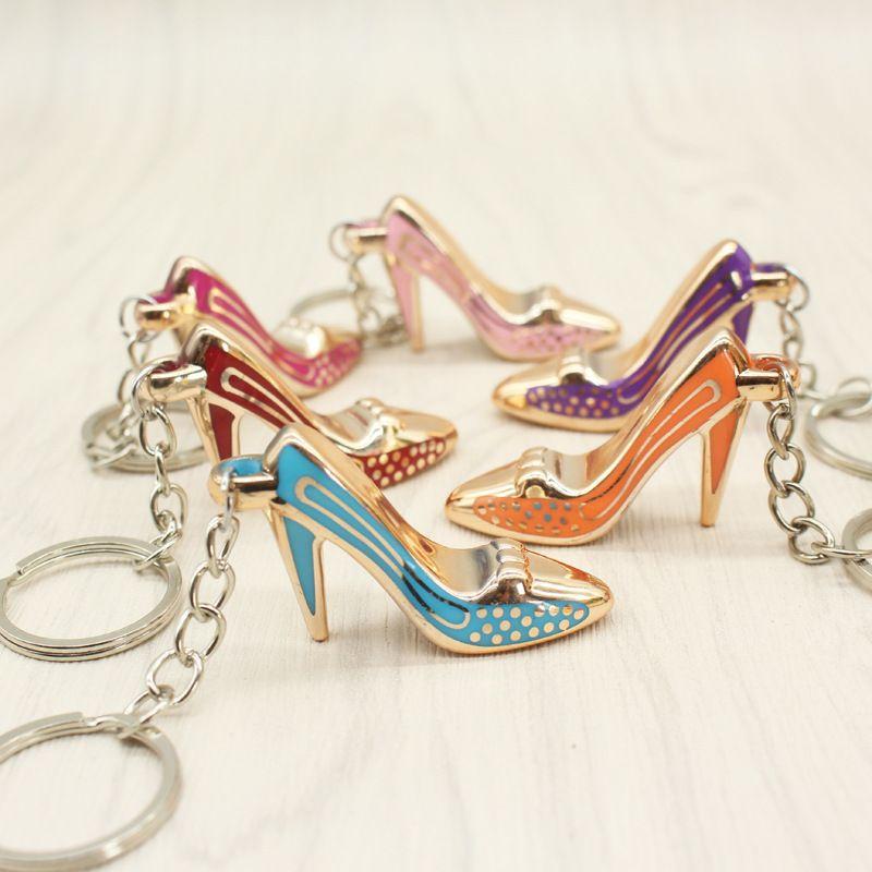 76e82d22fcf8b High Heeled Shoes Keychain Shoe Pendant Key Chain Purse Bag Keychains Car  Keyrings Keyring Key Rings For Women Girl Gift Remove Before Flight Keychain  Self ...