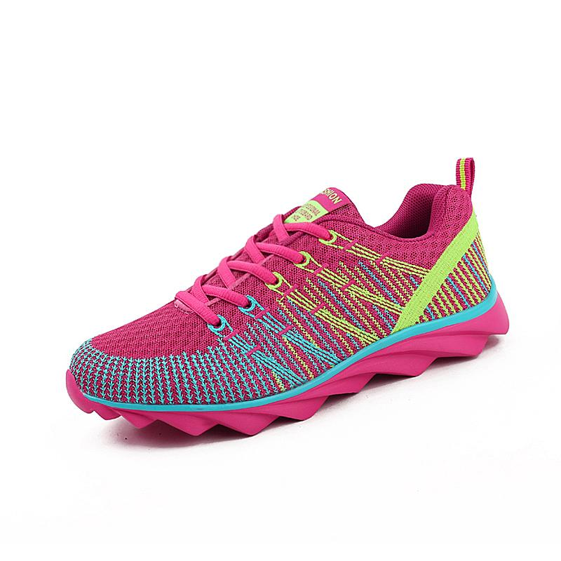 DawnDark Brand Running Shoes Women Mesh Breathable Trainers Ladies Jogging  Shoes Pink Purple Sports Footwear Cheap Runner UK 2019 From Raisins e2760c1c4