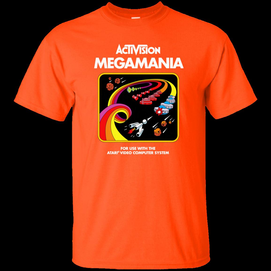 Megamania, Activision, Cartridge, Game, Atari, 2600, 2900, Retro, Video, Game, Funny free shipping Unisex Casual tee gift