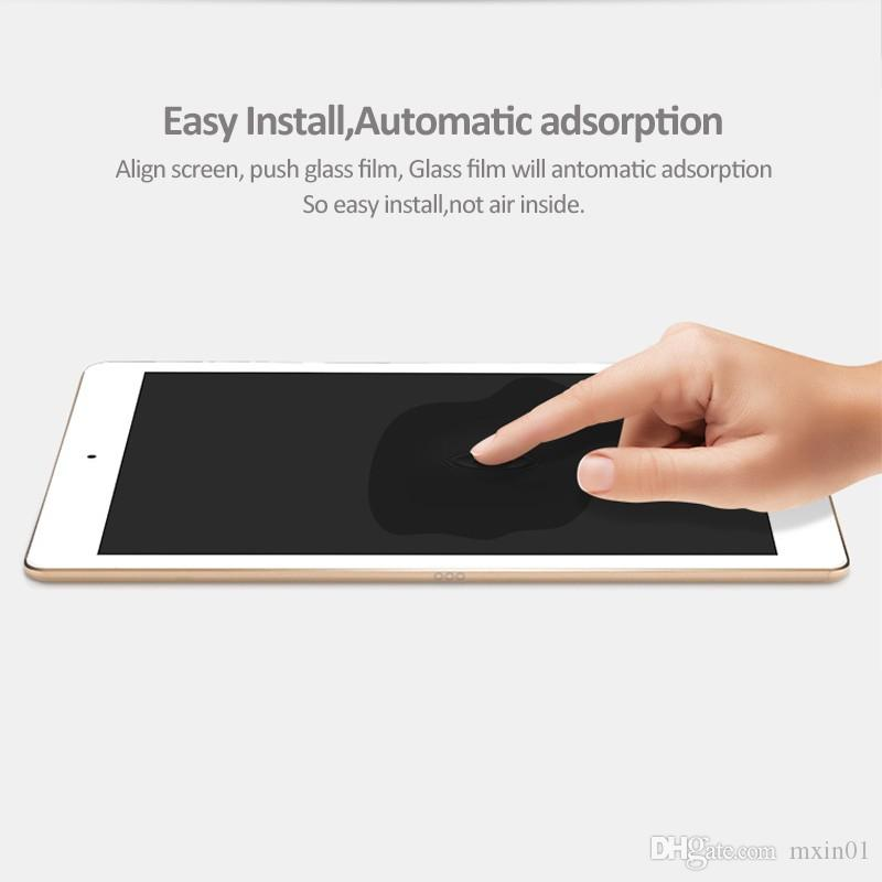 Pellicola di protezione dello schermo in vetro temperato 9H Premium iPad 2 3 4 5 6 Air Air2 Pro 12.9 11 10.5 9.7 2017 2018 Mini Mini4