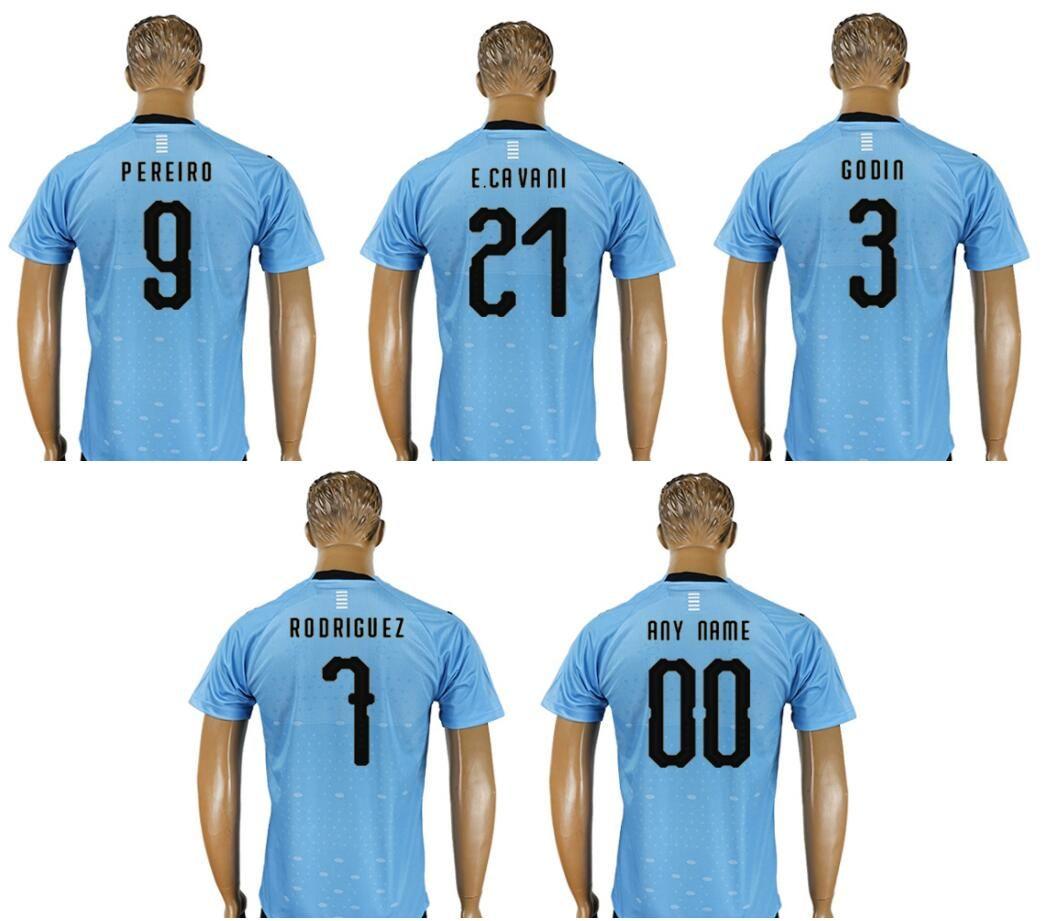 New Uruguay Mens  22 Martin Caceres 21 Edinson Cavani 3 Diego Godin ... 84e4dcb41