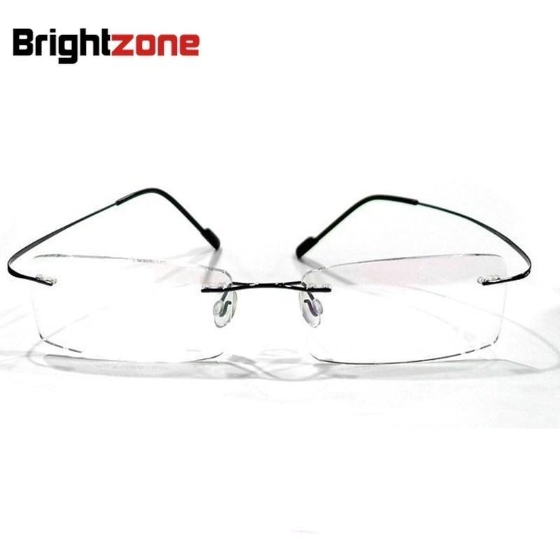 7c3c81d35fd 2019 Rimless Non Screw High End 100% Beta Pure Titanium Flexible Eyeglasses  Glasses Prescription Spectacle Optical Frame From Lbdwatches