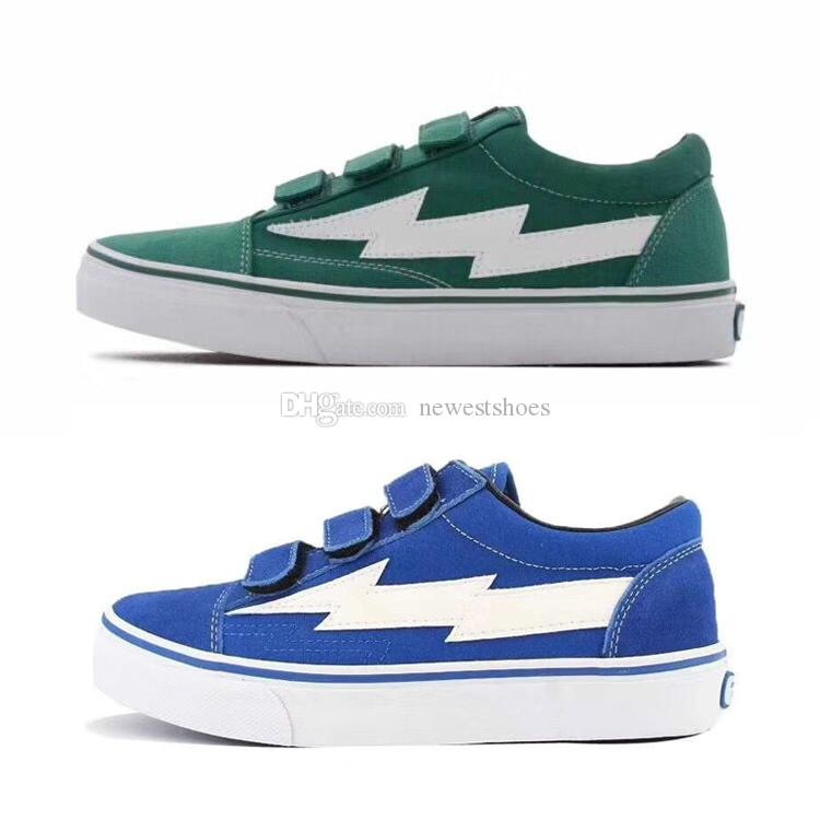 3ac5810ef754d2 2019 Revenge X Storm II Vol. 1 Low Top Green Blue Era Hook Loop Black Red  Mens Womens Skate Shoes Ian Connor Kendall Jenner Casual Sneakers From  Newestshoes ...