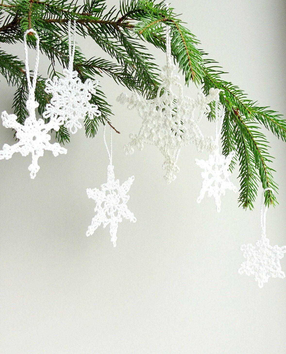 Compre Adornos De Árbol De Navidad Decoraciones De Copos De Nieve ...