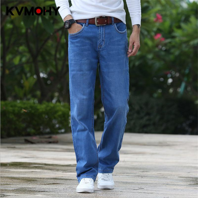 298d902bcf6cc2 2019 Jeans Men Hip Hop New Fashion Jean Male Casual Loose Straight Big Legs  Trousers Plus Size Denim Pants Stretch Mens Streetwear From Manxinxin, ...