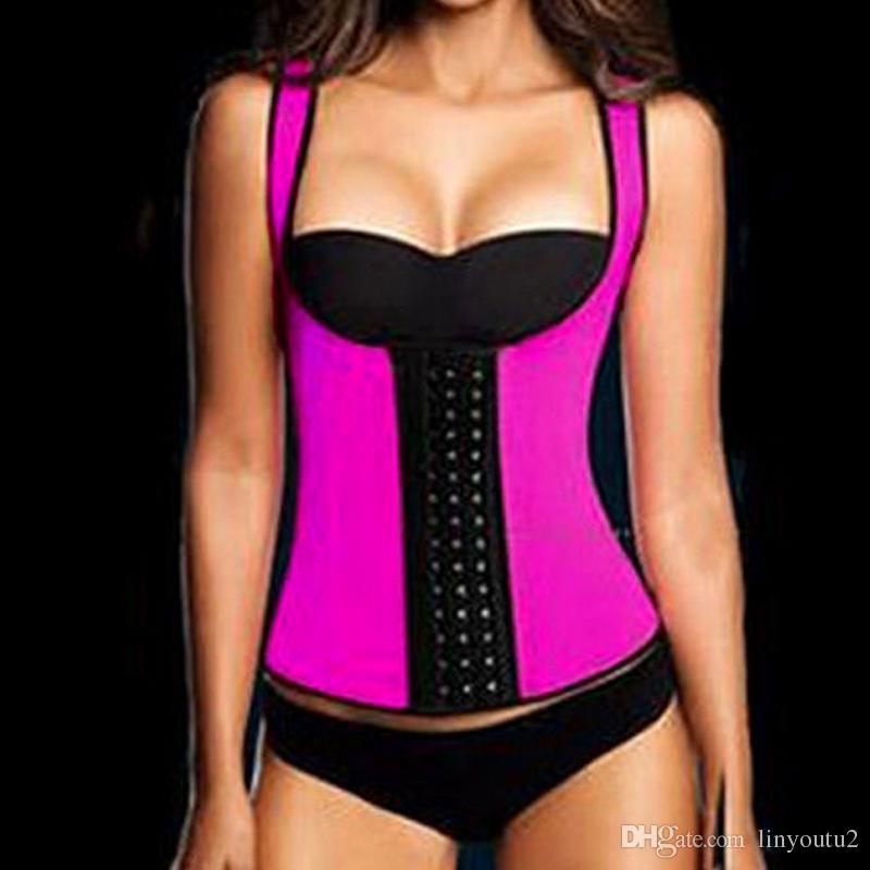921eb28c5ea Best Quality Hot Sexy Women Slimming Belt Corset Neoprene Latex Waist  Trainer Body Shaper Modeling Strap Shapewear Chest Binder Waist Cincher At  Cheap Price ...