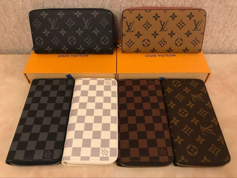 46c62e32ac53 LOUIS VUITTON DESIGNER WOMEN MEN PURSE LV LEATHER HANDBAGS GUCCI HIGH  QUALITY CLUTCH WALLETS BAG TOTES AAA+ Leather Purses Big Bags From  Chanles20188
