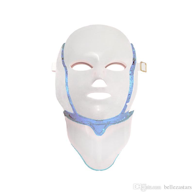 Le plus efficace 7 couleurs Photon LED Masque Usage à Domicile Facial Thérapie PDT Lumière LED Masque Dispositif Beauté Machine