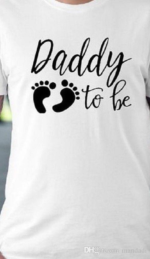 342e59cf2d1 Daddy To Be Tee Shirt Funny T Shirt Pregnant New Dad Father Husband Baby  Crazy Shirt Designs A Shirt A Day From Tshirt2you