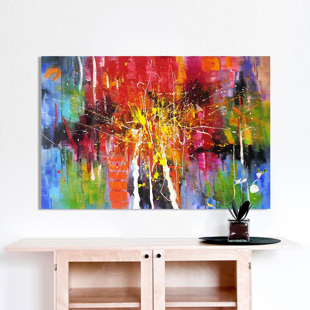 Impressive Oil Painting Ideas For Living Room Property