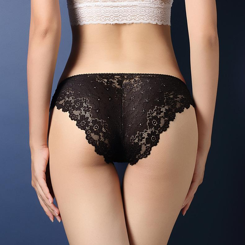 e0034826f5ae Sexy Lace Panties Women Fashion Cozy Lingerie Tempting Pretty Briefs High  Quality Cotton Low Waist Cute Women Underwear Lady Lace Underwear Women Sexy  ...
