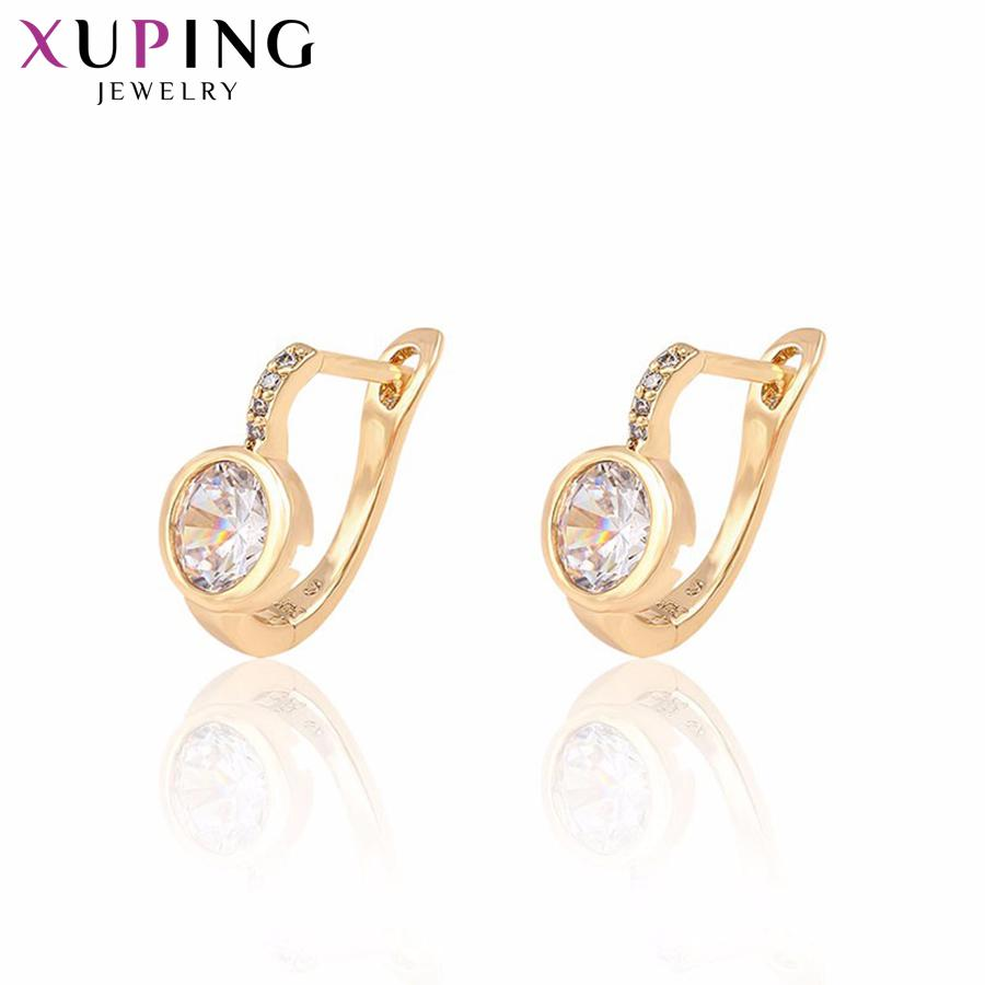 2018 Whole Sale11.11 Deals Xuping Earring New Design Luxury ...
