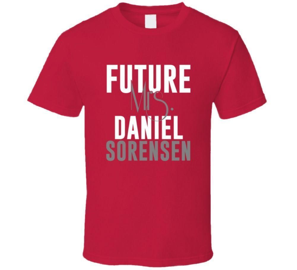 Future Mrs Daniel Sorensen Kansas City Football T Shirt T Shirts