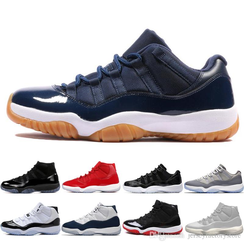 da09af8c630 New 11 11s Cap And Gown Prom Night Mens Basketball Shoes Gym Red Bred Prm  Heiress Barons Midnight Navy Men Sports Sneakers Trainers Designer  Basketball ...