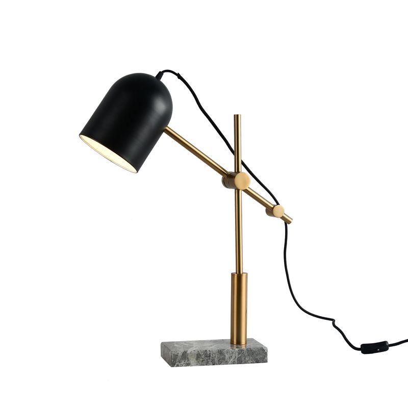 Bulb Table Reading Toolery Art Modern Light Lighting Lamps Home Decoration Marble Base Nordic E27 Led Iron Luxury 6w Lamp nwN0vm8O