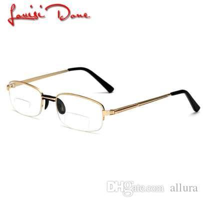 bb4ced1e65 Compre Gafas De Lectura Hombres Viejos Mujeres Marco Transparente Presbicia  Plegable Gafas De Lectura Leesbril Lupa Gafas Visión Grande A $18.28 Del  Allura ...
