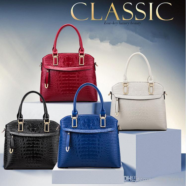 c73295f4e028 Luxury New Ladies  Handbags Office Bag Classic Three-piece ...