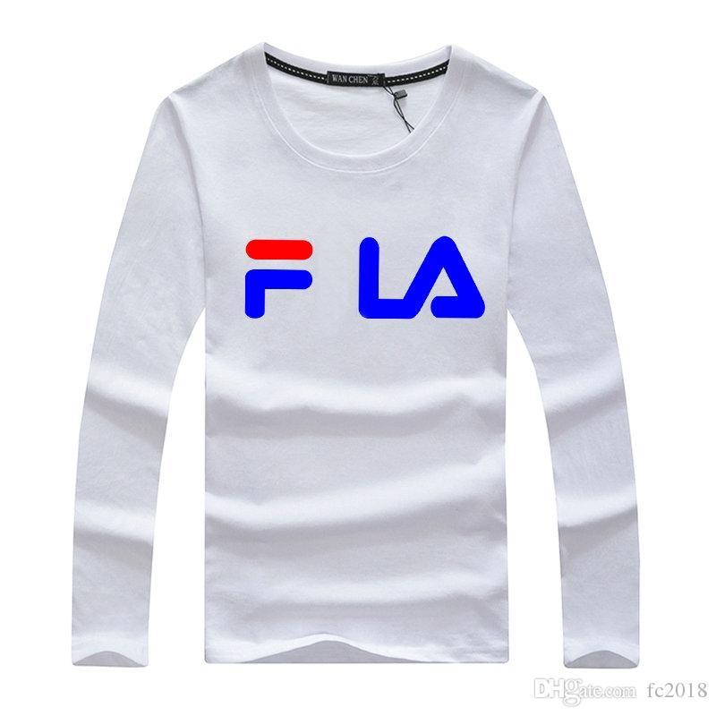 the latest 2f74d 8e871 18ss herren langarm männer t-stück t-shirt straße tragen europa paris mode  männer hohe qualität einfach tun es basketball sport star baumwolle ...