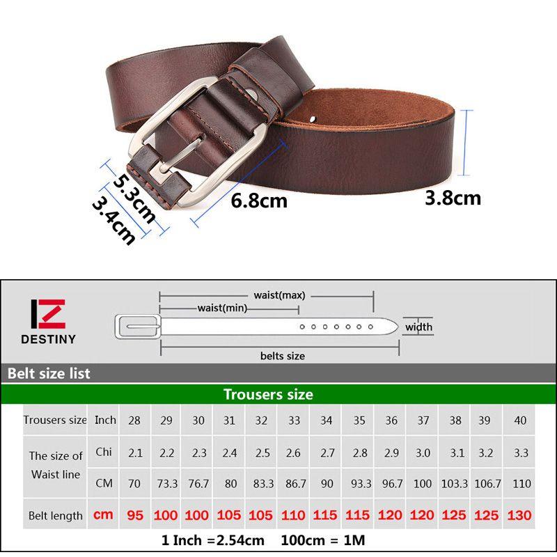 Men Belts Male Genuine Leather Strap Luxury Designer Fivela Cowboy Ceinture Homme High Quality Jeans Belt Metal Buckle