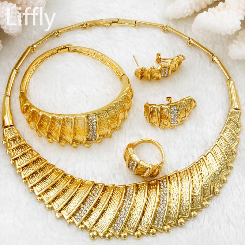 2018 2018 New Fashion Dubai Bridal Wedding Jewelry Sets Italy ...