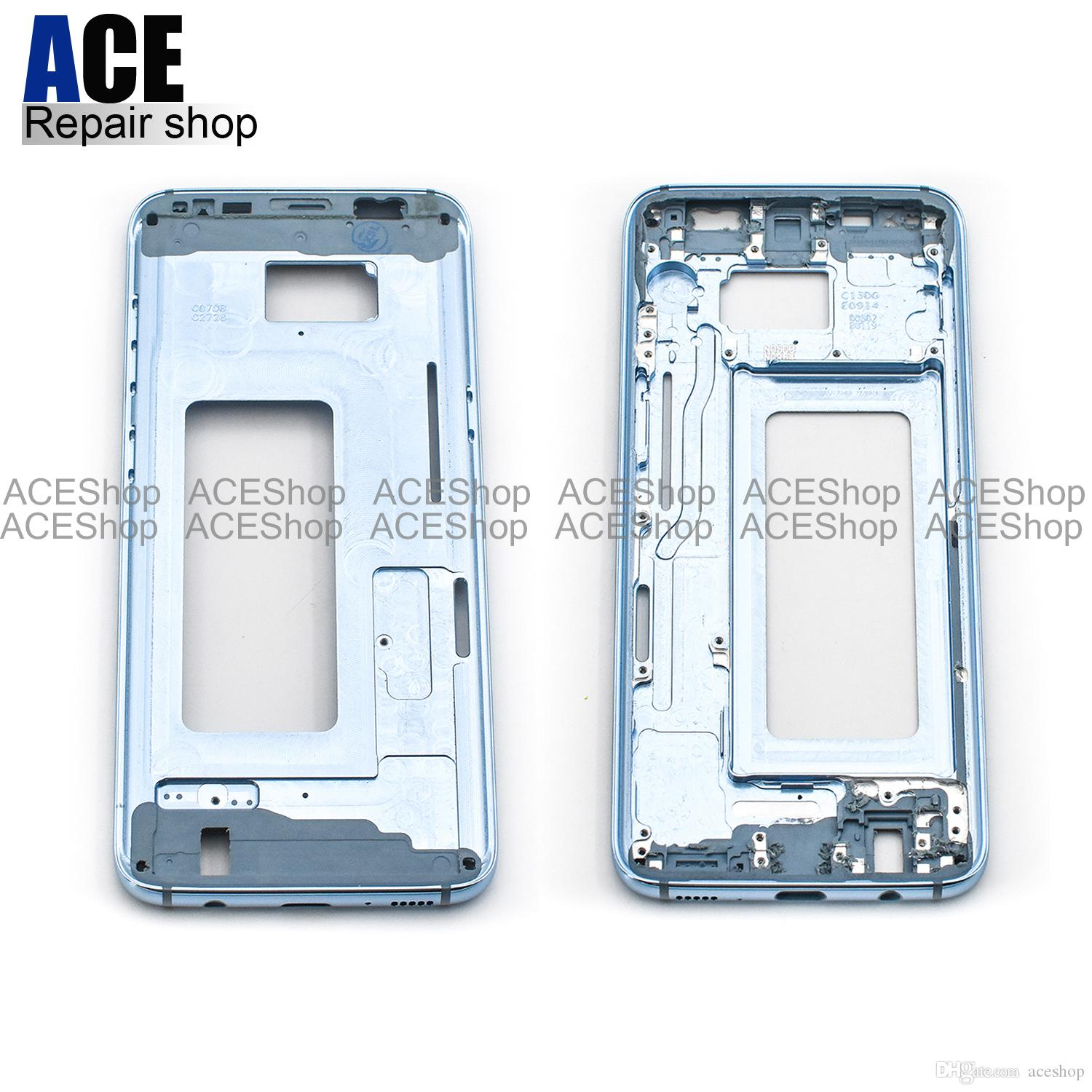 2018 Ace Oem Metal Middle Bezel Frame Case For Samsung Galaxy S8 G950 G950p G950f Housing With Side Buttons Free Dhl From Aceshop $14 57