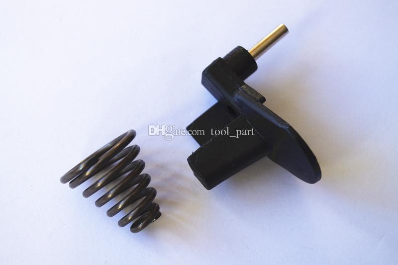 5 X blocco catena + molla Zenoah G4500 G5200 G5800 G5900 4500 5200 5800 5900 motoseghe 10 pezzi / lotto pezzo di ricambio