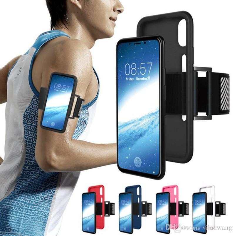 best service 65f82 17bac Running Armband Sports Armband for iPhone X Case Armband with Key Holder  for Hiking Biking Jogging