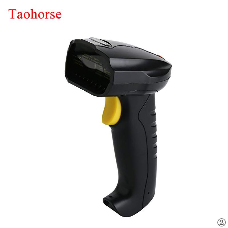 1d barcode scanner android code reader handheld wired Laser Light scan portable bar code scanner pda for cash drawer inventory