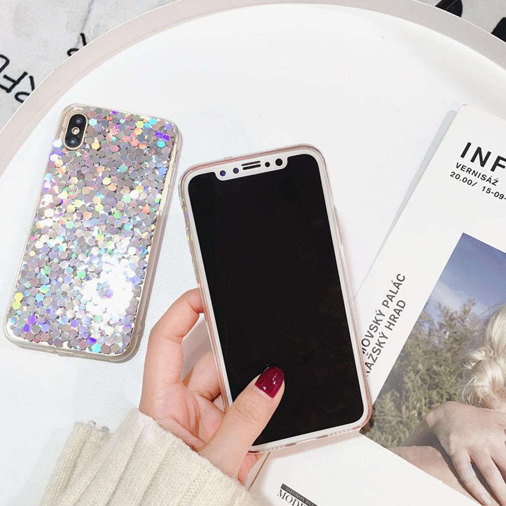 아이폰 X 6 두꺼운 주택 커버 쉘 소프트 실리콘 케이스 전화 보호 블링 디자인 IMD 케이스 6S 7 8 플러스 커플