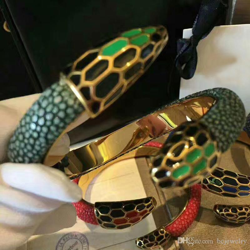 BC deri bileklik 5mm vatozu deri kadın bilezikler Yılan titanyum çelik düğüm charm adam takı bileklik pulseiras dropshipping