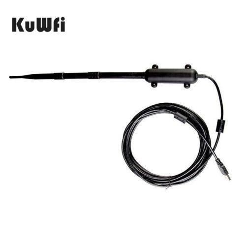 High Power Outdoor WIFI Antena 150mbps USB Bezprzewodowy Adapter WiFi 1 km Wzmacniacz Odległość Omni-Directional Wireless Network Card