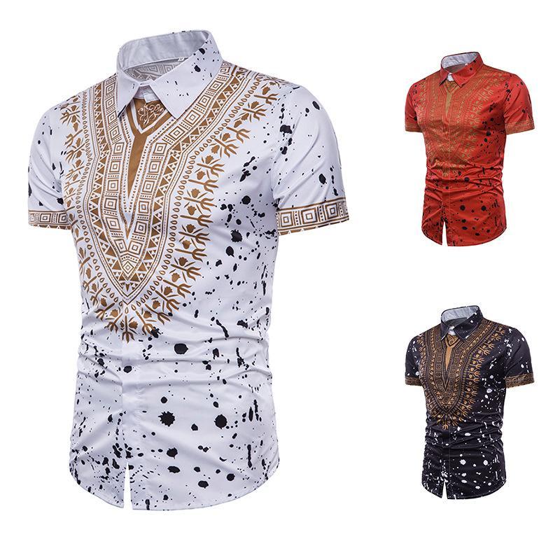 Compre Hot Fashion 3d Ropa Africana Hip Hop Africa Clothing Dashiki Vestido  Impreso Camisas Casual Vestidos Africanos Para Mujeres   Hombres A  25.02  Del ... 8759afadd1f