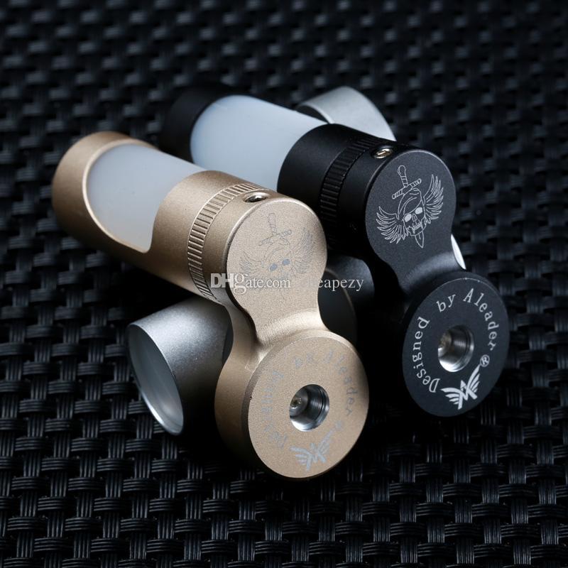Original Aleader Beret Mech Mod Tapas de alimentador eliquid para alimentar líquido E en atomizador 7ml Botella de aluminio siliconado Sin DHL