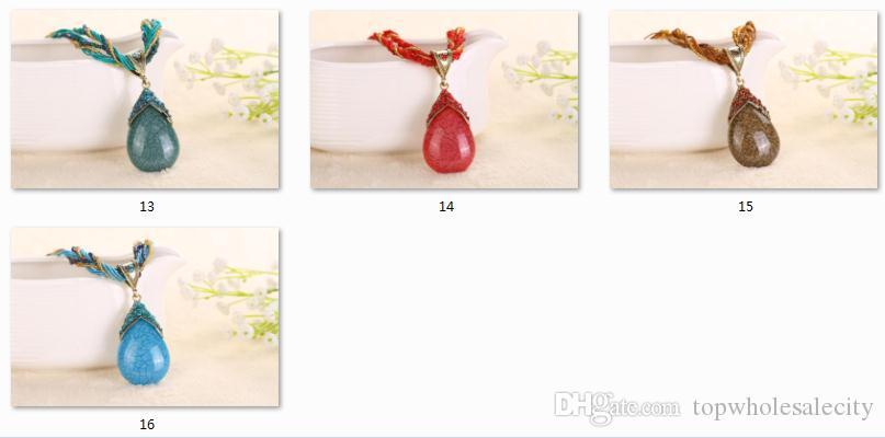 2018 Ethnic Fashion Necklace Lady Decoration Accessories Fine Pendant Alloy Necklace Retro Multiple Colors Available promotion