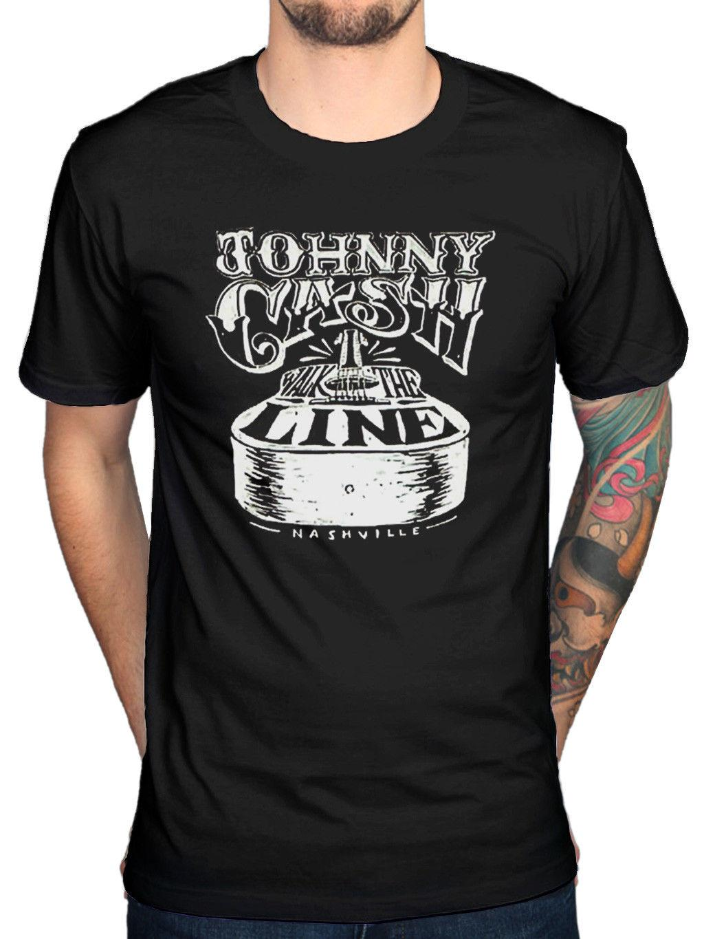 5734005a Official Johnny Cash Walk The Line T Shirt A Thing Called Love Ragged Old  Flag 100% Cotton For Man Fashion Style Men Tee Ts Shirt Buy Funny T Shirts  From ...