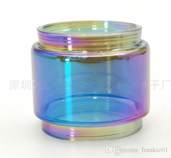 استبدال الزجاج أنبوب قوس قزح ecig ل tfv8 tfv8 طفل كبير vape القلم 22 خزان فاليريان 8 ملليلتر عصا v8 tfv8 cleito
