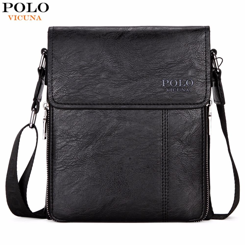 VICUNA POLO Brand Business Men Shoulder Bag Promotion Casual Brand Man Bag  Leather Messenger Bags Crossbody Sling Bag Hot Sell Women Handbags Weekend  Bags ... b2d052e95f6b3