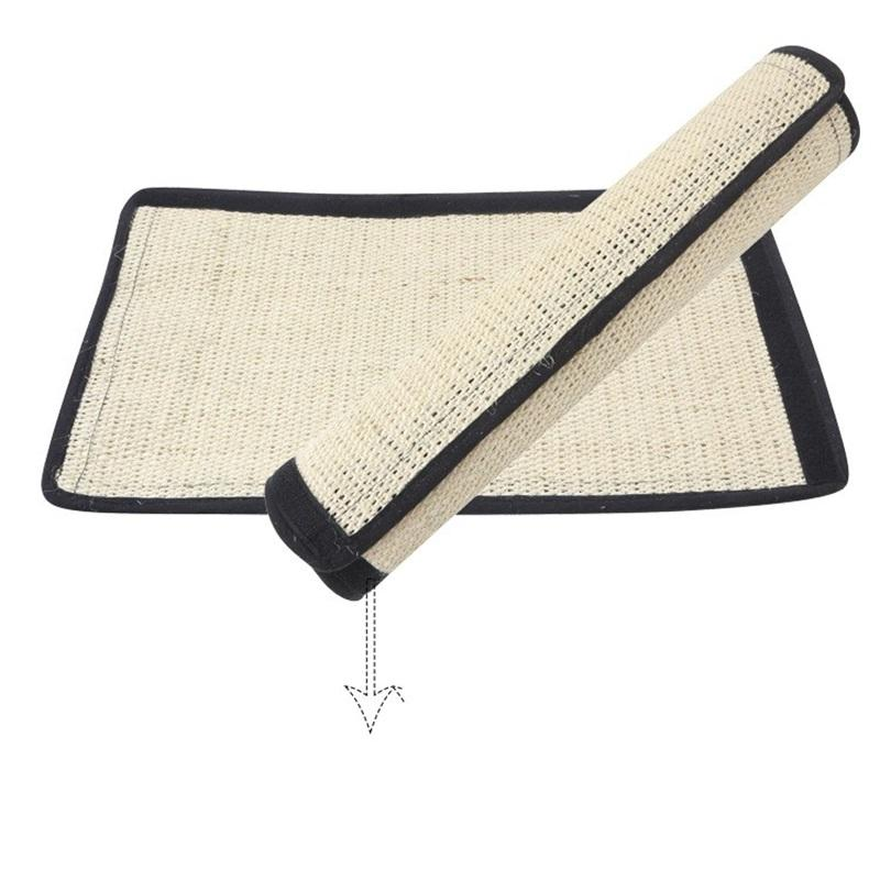 Cat Toys Table Leg Guard Sisal Blanket Cats Grab Board Mat Warps Around Furniture Or Lays On Floor 11 5zs gg