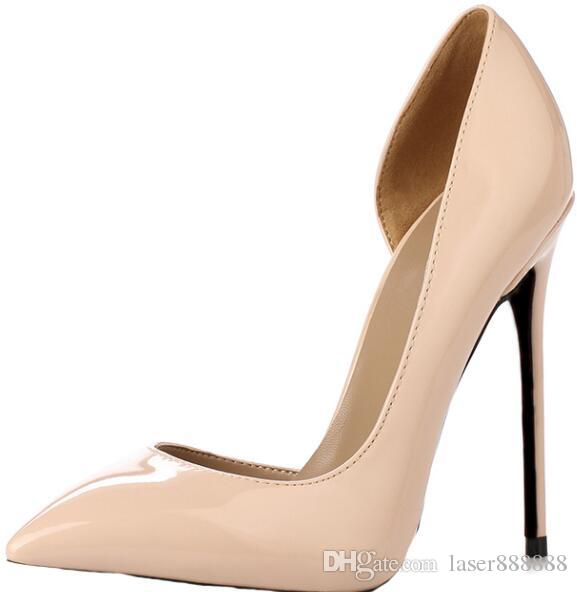2018 Women Sexy High Heels Pointed Toe Pumps Office Shoes Party Shoe ... dd80fbad6ee1