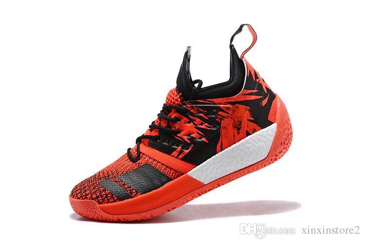 2018 neue Ankunft James adidas Harden Vol.2 Männer Basketball Schuhe vp Vol.2 MVP Training Turnschuhe Sportschuhe Designer Schuhe Größe 40 46