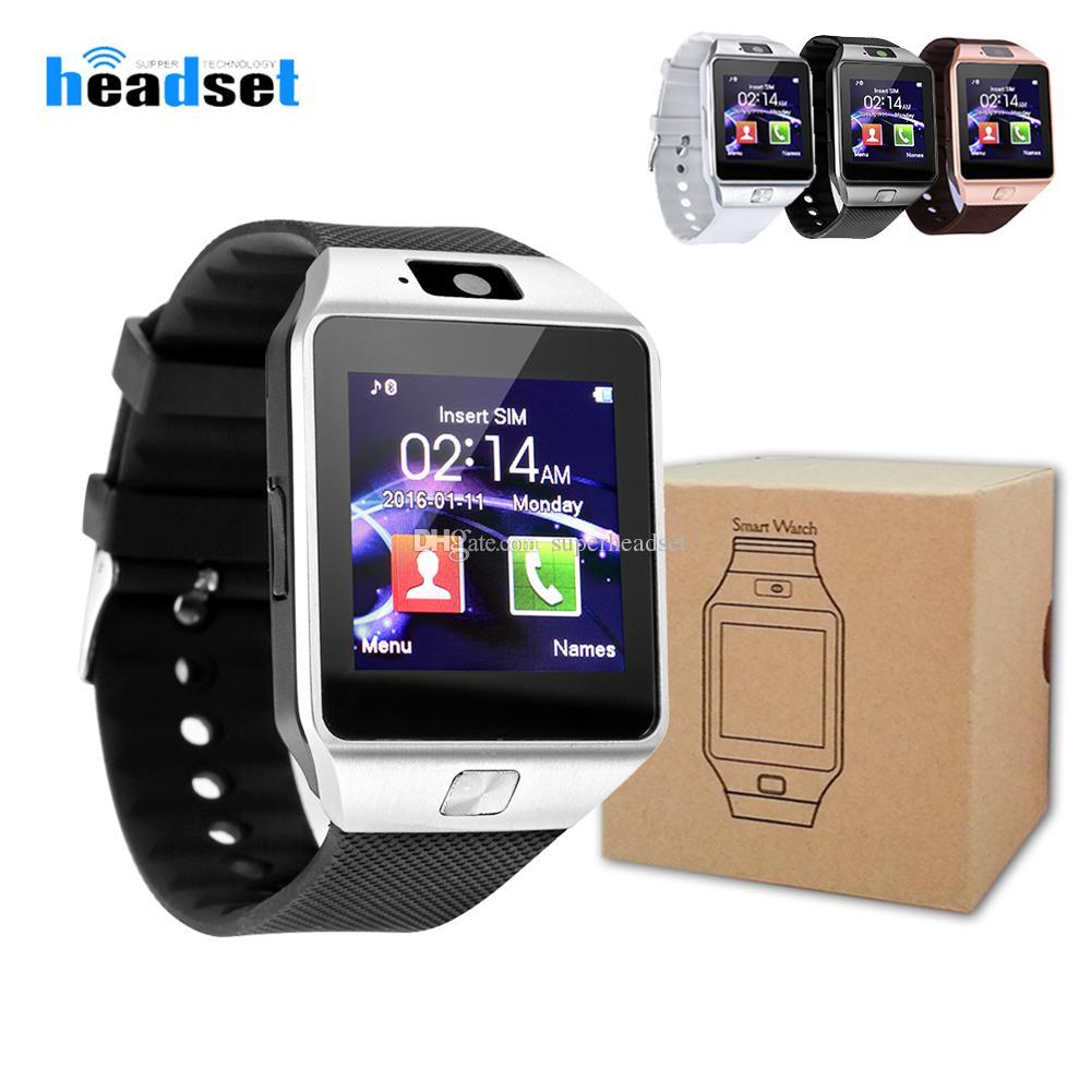 465da752954 Batería de alta calidad DZ09 Reloj inteligente Reloj Dz09 Reloj Android Reloj  inteligente SIM Inteligente Teléfono