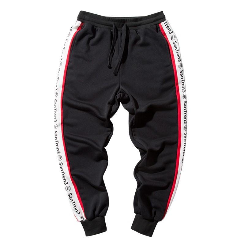 Compre Bormandick Para Hombre Pantalones Casuales Estiramiento Para Hombre  Pantalones Hip Hop Para Bragas De Invierno Casual Para Hombre Slim Kxp18  Ck09 42 ... 4a5d5b368f8