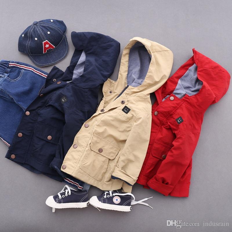 66c9036aaab9 Fashion Boys Clothes Jacket Coat Autumn Zipper Jacket For Baby Kids ...